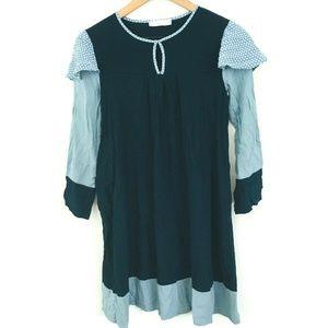 Stella McCartney Kids Long Sleeve Silk Blend Dress